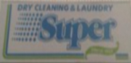 dry cleaning & laundry super